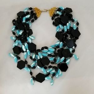 Handmade vintage necklace from the 1980's